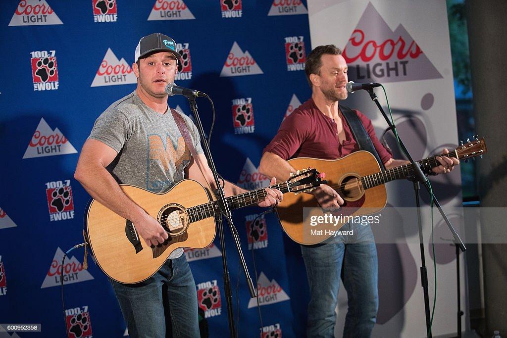 Country Music Singer Easton Corbin and guitarist Loren Ellis