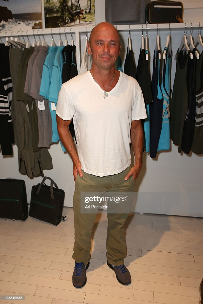Laird Hamilton Launches Laird Apparel At Ron Robinson In Santa Monica, CA On October 22, 2015