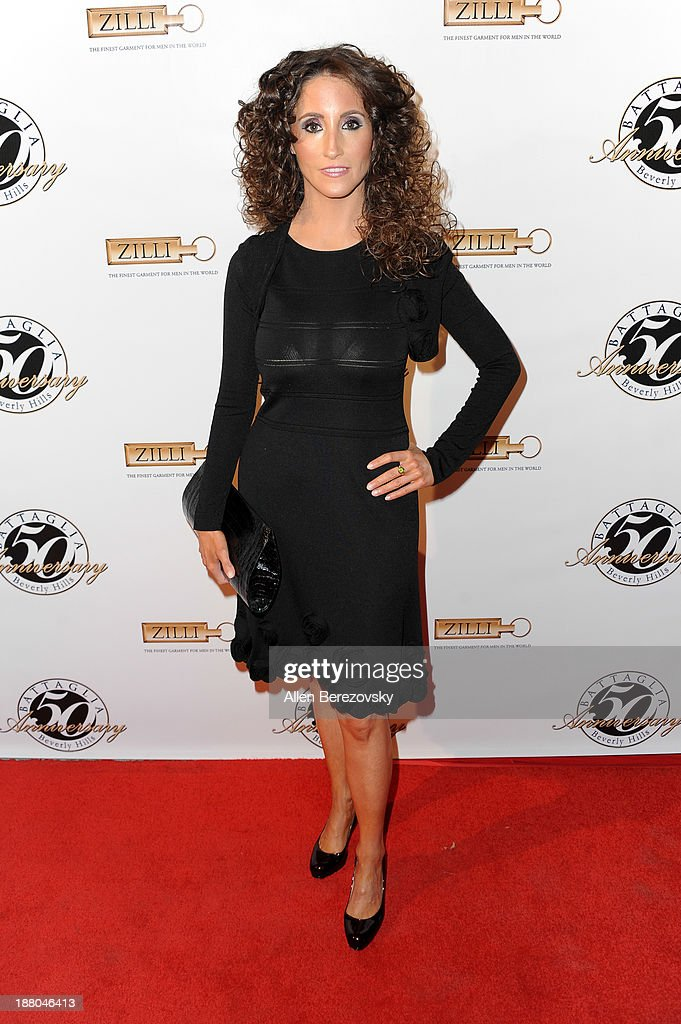 Country music singer Laura Bryna attends the Battaglia's 50th Anniversary of Quality & Elegance Celebration on November 14, 2013 in Beverly Hills, California.
