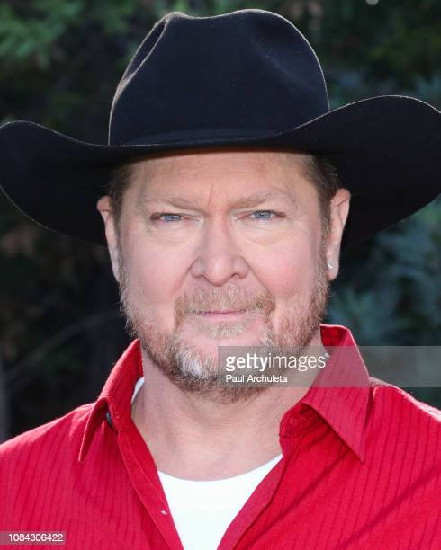 Country Music Singer Tracy Lawrence visits Hallmark's 'Home Family' at Universal Studios Hollywood on December 18 2018 in Universal City California
