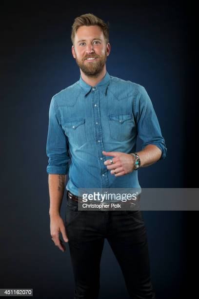 Country music singersongwriter and founding member of Lady Antebellum Charles Kelley is photographed at the CMT Music Awards Wonderwall portrait...