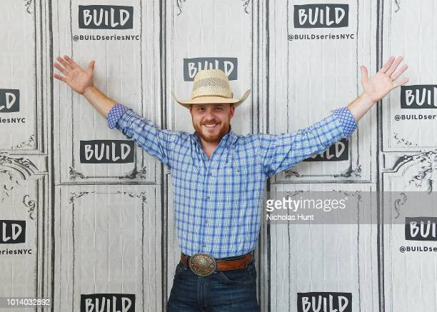 Country music star Cody Johnson visits Build Series to discuss his new single at Build Studio on August 9 2018 in New York City
