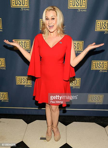 Country music star Kellie Pickler attends the 2016 USO Gala on October 20 2016 in Washington DC