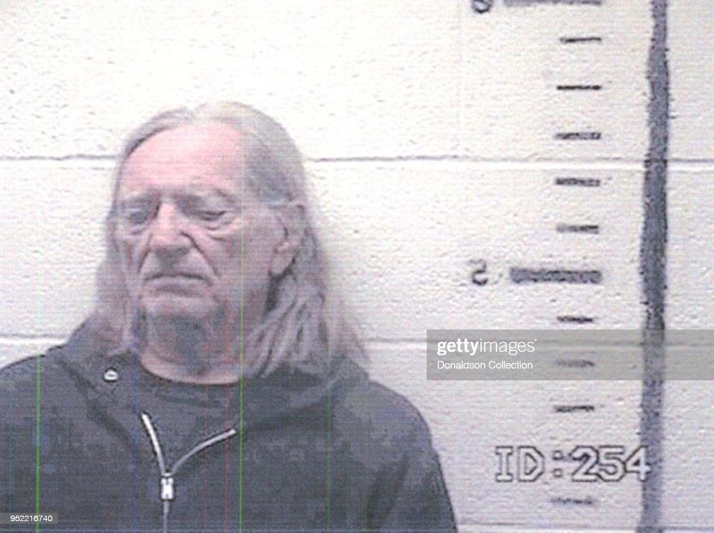 Willie Nelson Mugshot : News Photo