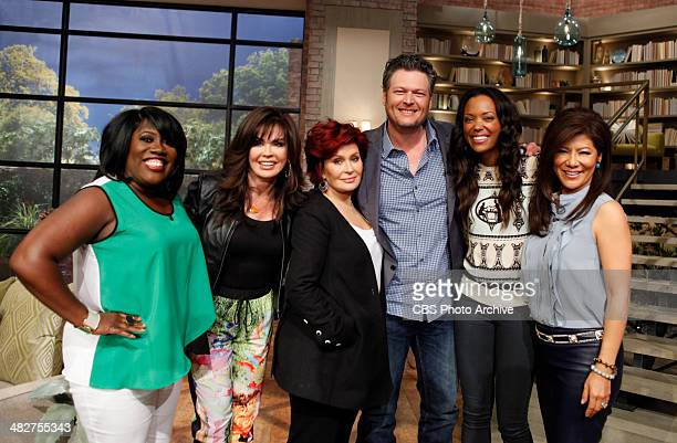 Country music superstar Blake Shelton discusses cohosting the 49th Annual Academy of Country Music Awards on THE TALK Thursday April 3 2014 on the...