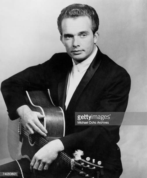 Country musician Merle Haggard poses for a mid 1960's portrait