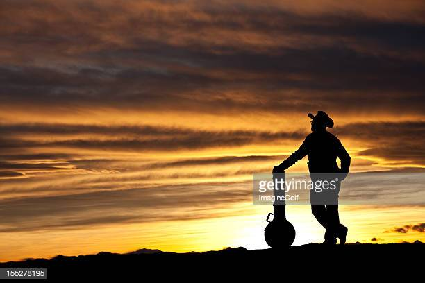 Country Musician Silhouette