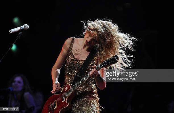 Country pop star Taylor Swift performs at the Verizon Center Swift who is 21 is an American country pop singersongwriter musician and actress who...