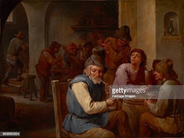 Country Pub c 1660 Found in the Collection of Muzeul National Brukenthal Sibiu