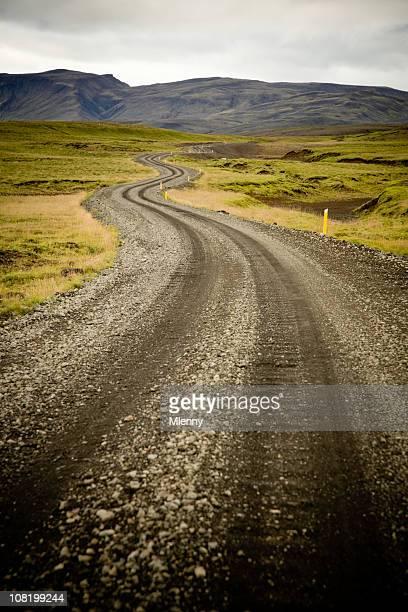 country road island - mlenny stock-fotos und bilder