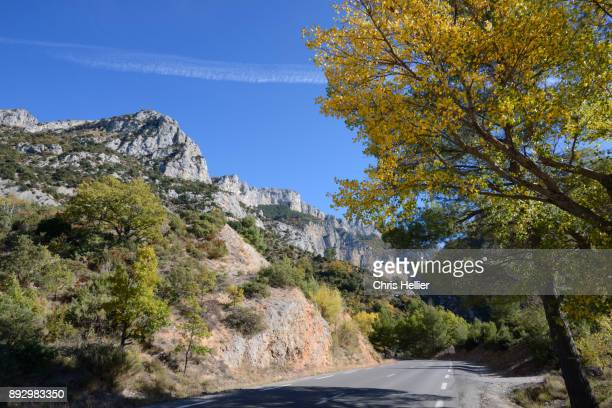 Country Road Leading to Southern Entrance of the Verdon Gorge