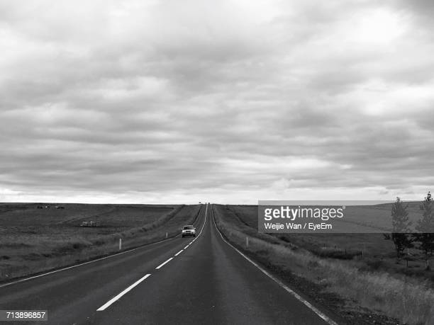 Country Road Passing Through Landscape