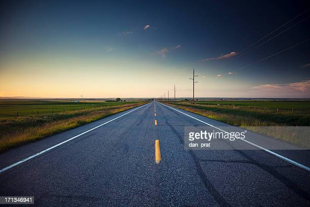 country road - two lane highway stock pictures, royalty-free photos & images