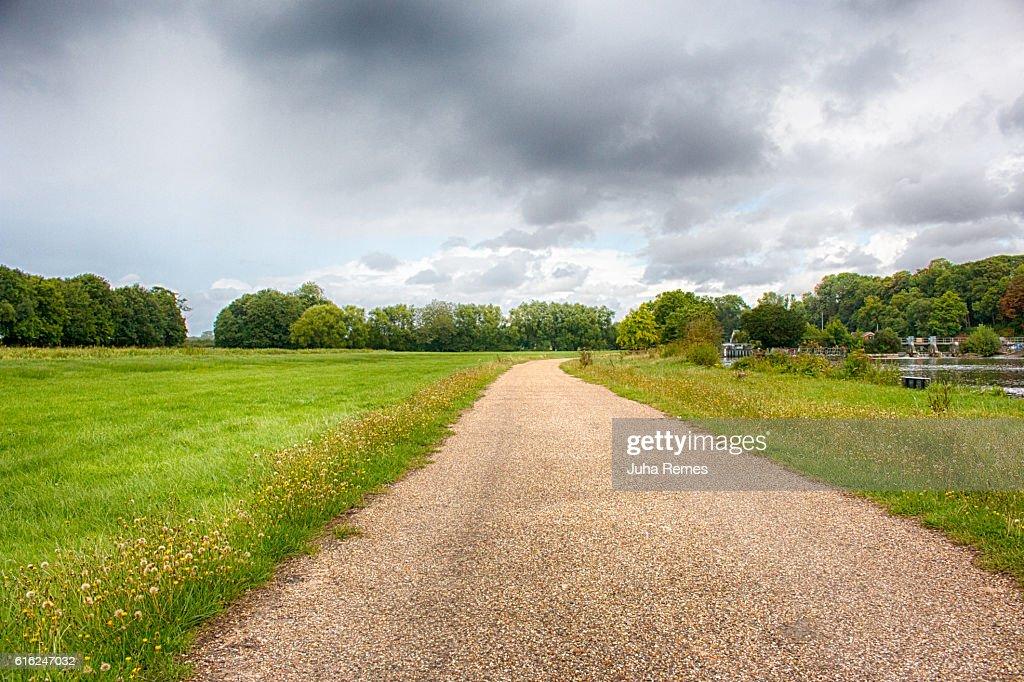 Estrada Secundária : Foto de stock