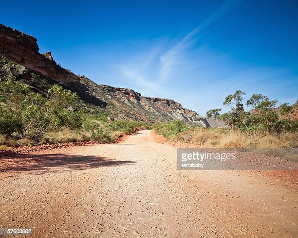 Country Road through Australian Outback