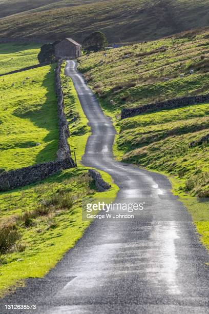 country roads - horizon over land stock pictures, royalty-free photos & images
