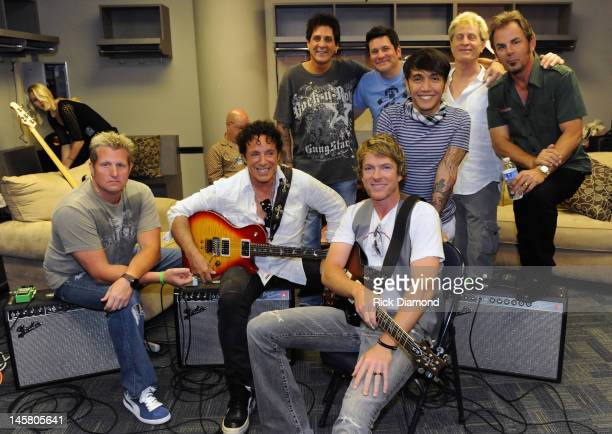 Country rockers Rascal Flatts and super group Journey collaborate including members Gary LeVox of Rascal Flatts Neal Schon of Journey Joe Don Rooney...