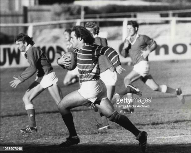 Country Rugby Union Carnival at Millner Field Eastwood April 24 1980