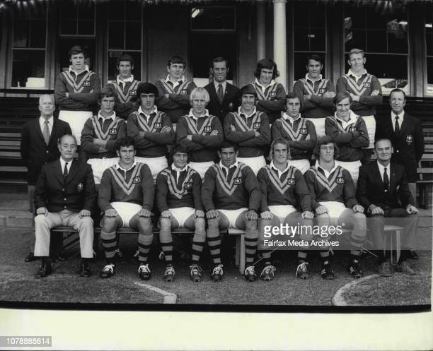 Country Seconds Photographed at S C G Today Back Row M Hunt R Starr A Browne W Bischoff H Daley E Browning J McCormackMiddle Row W Baker T Welsh G...