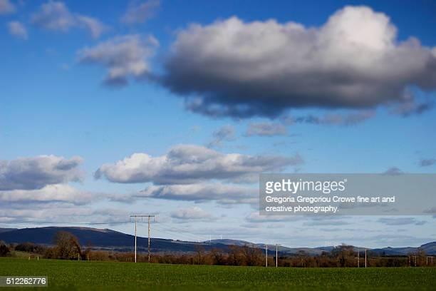 country side landscape - gregoria gregoriou crowe fine art and creative photography foto e immagini stock