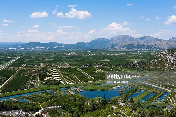 country side near slivno, croatia - marco cristofori fotografías e imágenes de stock