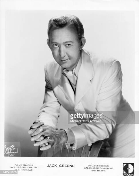 Country singer and Grand Ole Opry star Jack Greene poses for a portrait in circa 1965 in Hollywood California