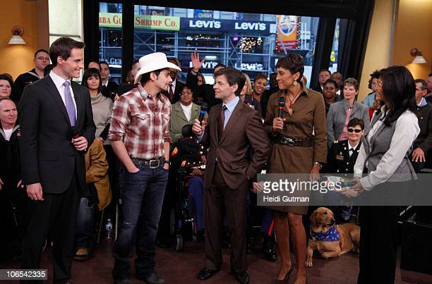 AMERICA Country singer Brad Paisley performs on Good Morning America 11410 on the Walt Disney Television via Getty Images Television Network JEFF