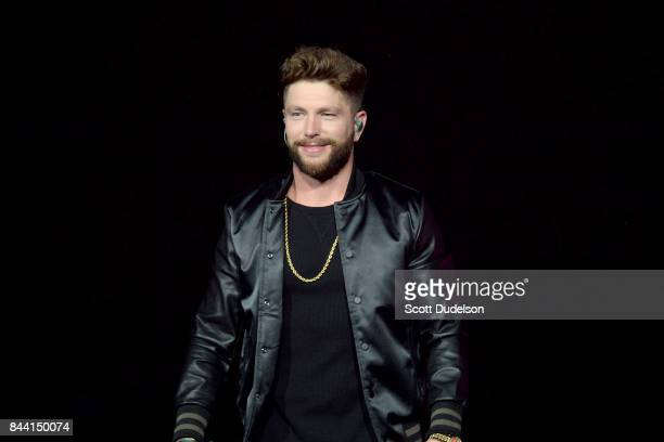 Country singer Chris Lane performs onstage at Honda Center on September 7 2017 in Anaheim California