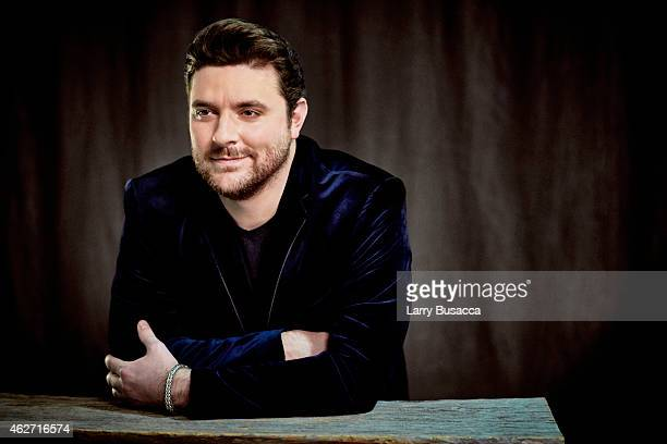 Country singer Chris Young poses for a portrait on December 15 2014 at Music City Center in Nashville Tennessee