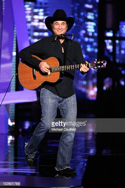 Country singer Clint Black performs onstage during the 2010 ESPY Awards at Nokia Theatre LA Live on July 14 2010 in Los Angeles California