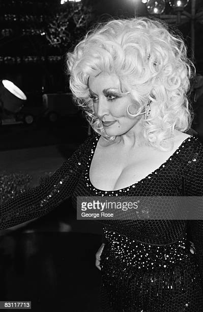 Country singer Dolly Parton heads to an afterparty at Harrah's Club in this 1980 Lake Tahoe Nevada where she was performing a series of live concerts