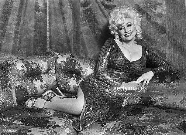 Country singer Dolly Parton poses during a 1980 portrait session before taking the stage at Ceasar's Palace in South Lake Tahoe California