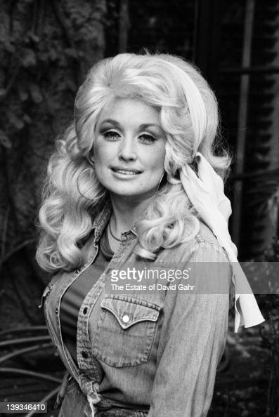Country Singer Dolly Parton Poses For A Portrait In
