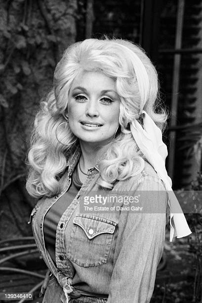 Country singer Dolly Parton poses for a portrait in September 1976 in New York City New York