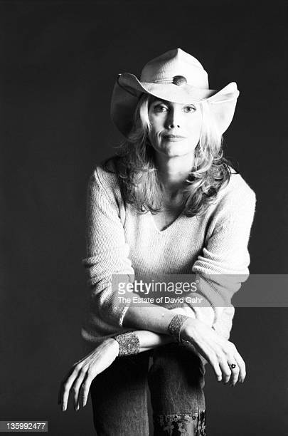 Country Singer Emmylou Harris poses for a portrait in September 1999 in Brooklyn New York City New York