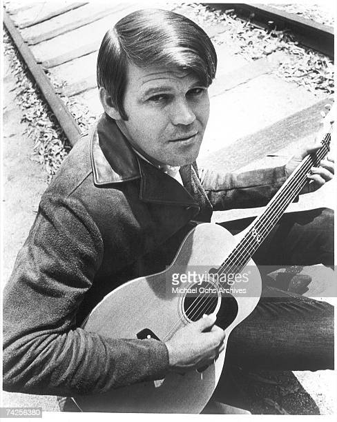 Country Singer Glen Campbell poses for a portrait in 1968.
