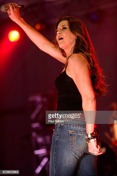 Country singer Gretchen Wilson performs at the Country Music Festival in Chicago Illinois October 11 2008