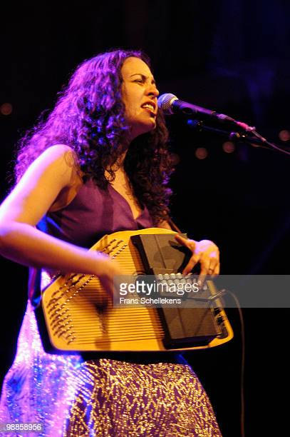 Country singer Grey DeLisle performs live on stage at Paradiso in Amsterdam, Netherlands on October 05 2003