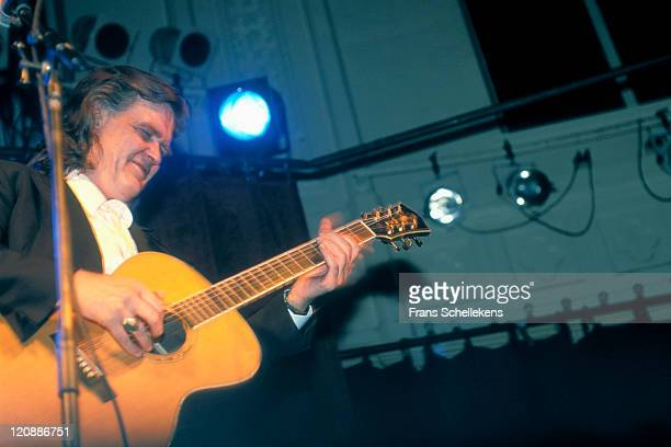 Country Singer Guy Clark performs live on stage at Paradiso in Amsterdam, Netherlands on 9th January 1992.