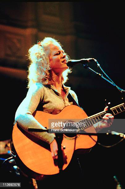 Country singer Ilse DeLange performs live on stage at Paradiso in Amsterdam Netherlands on 18th October 1998