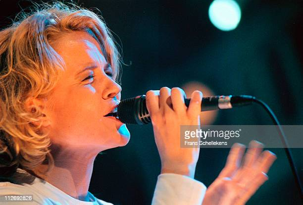 Country singer Ilse DeLange performs live on stage at Paradiso in Amsterdam, Netherlands on 18th February 1999.