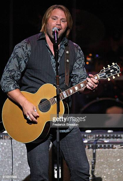 Country singer James Otto performs at the second annual ACM Honors at Schermerhorn Symphony Center on September 22 2009 in Nashville Tennessee