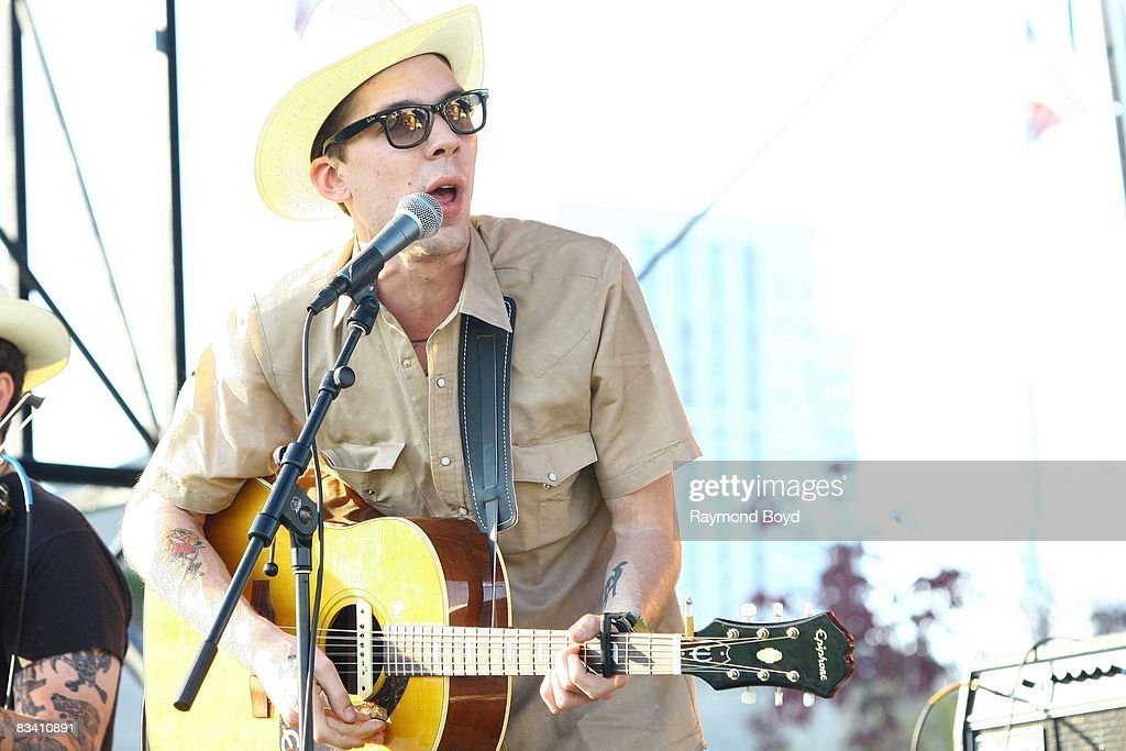 Country singer Justin Townes Earle performs during the 18th annual Chicago Country Music Festival at Soldier Field Parkland in Chicago, Illinois on October 12, 2008.