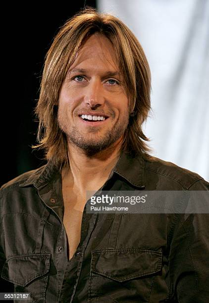 """Country singer Keith Urban announces the final nominees in the 12 categories for """"The 39th Annual CMA Awards"""" at the Stone Rose in the Time Warner..."""