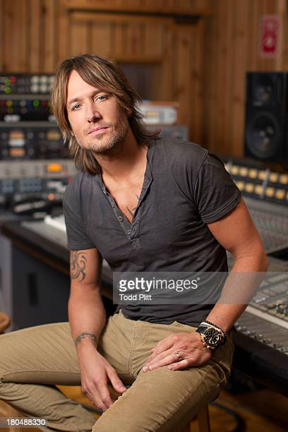 Country singer Keith Urban is photographed for USA Today on September 9 2013 in New York City