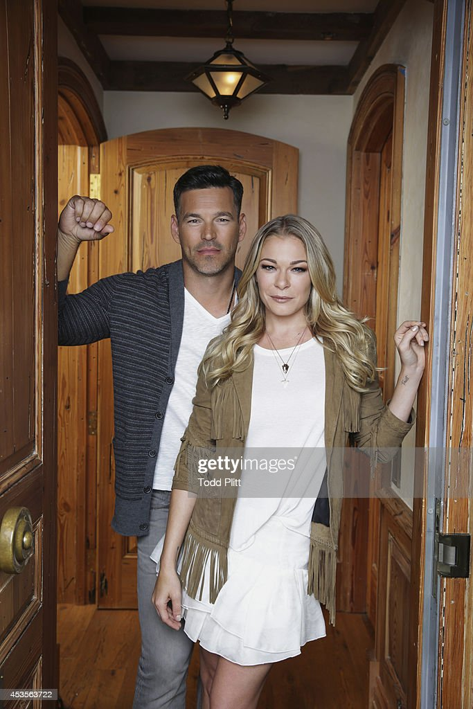LeAnn Rimes and Eddie Cibriani, USA Today, July 17, 2014