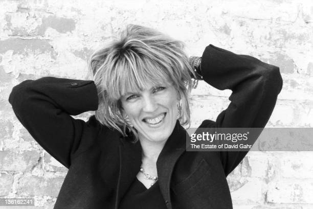Country singer Lucinda Williams poses for a portrait in July 1990 in Lenox Massachusetts