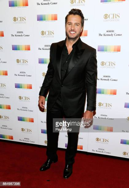 Country singer Luke Bryan attends the 40th Kennedy Center Honors at the Kennedy Center on December 3 2017 in Washington DC