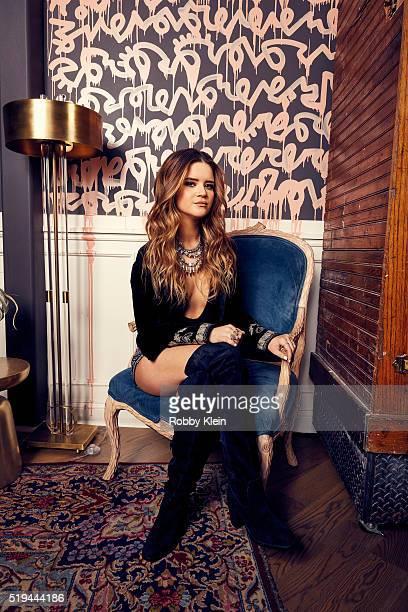 Country singer Maren Morris is photographed for Billboard Magazine on December 15 2015 in Nashville Tennessee