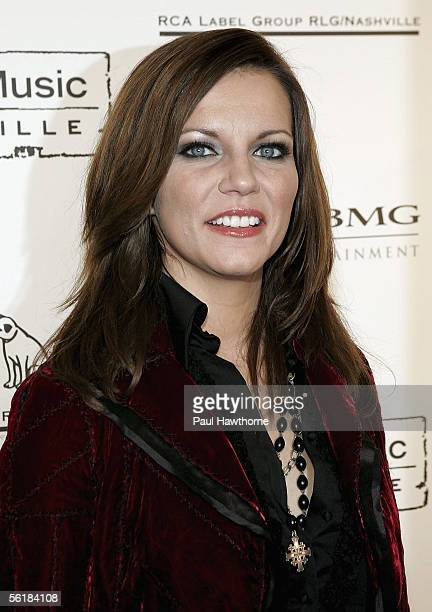 Country singer Martina McBride attends the Sony BMG 2005 Country Music Awards after party at Gotham Hall November 15 2005 in New York City